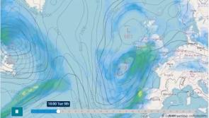 Met Éireann tweets weather forecast clip of what expect in next seven days