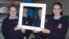 Fuinneogí Frames launched by enterprising Moyne Community School students