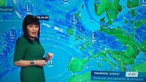 Met Éireann latest weather on RTÉ - 'polar air' forecast to 'dig in' over Ireland