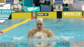 Record breaker Longford swimmer Darragh Greene wins another National senior title