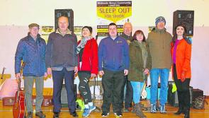 Longford Sleep Out for Simon
