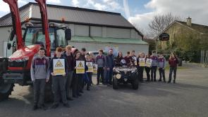 Farm safety demo wows   Ballymahon Vocational School