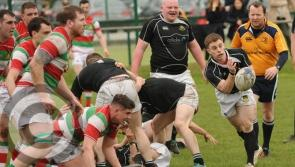 Longford Rugby Club in action against Wicklow in Provincial Towns Cup semi-final