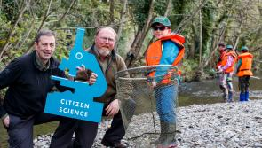Canney appeals to anglers in Longford to become citizen scientists as part of the National Salmon Scale Project