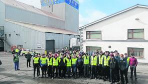 Longford students captivated by ploughing workshop