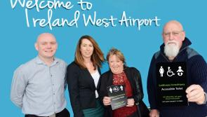 Ireland West Airport announces support for Travel with IBD Ireland to highlight that not every disability is visible