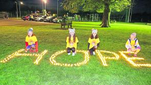 Sixth annual Longford Darkness into Light walk