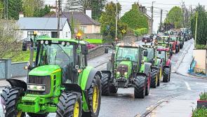 Ballymahon tractor run raises an impressive €10k for day care centre