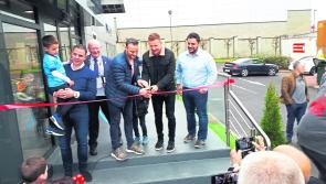 Crowds flock to get a pizza action at Longford restaurant extension opening