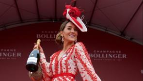 Longford's Kate Nally McCormack 'thrilled to be bringing the Bollinger home to Ballymahon' as she is crowned best dressed winner at Punchestown 2019
