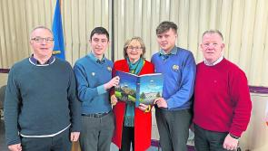 MEP Mairead McGuinness takes in visit to Longford's St Mel's College