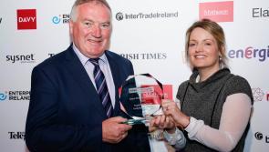 Longford's Kiernan Structural Steel land family business award