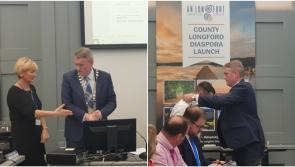 Cllr Micheál Carrigy elected cathaoirleach of Longford County Council