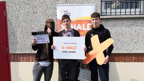 Kildare youth groups call for local support ahead of X-HALE Youth Awards as they compete for National Award