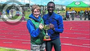 Rising Longford high jump star Nelvin Appiah representing Team Ireland at the European Games in Belarus