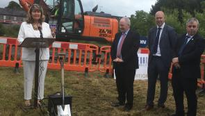 WATCH| Minister Ring turns the sod to Edgeworthstown library and issues warning to Longford public