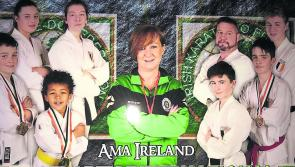 Learn to karate chop at the Longford show