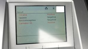 Longford gardaí arrest  driver of car who tested positive for cocaine and cannabis
