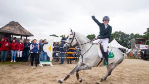 Ireland's Kate Derwin crowned European U18 Show Jumping Champion after flawless performance on Longford bred horse