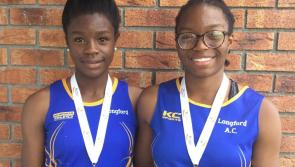 National Gold medals for Longford sprint sisters Yemi and Funmi Talabi