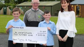 Two Longford boys design and produce comic for St Christophers