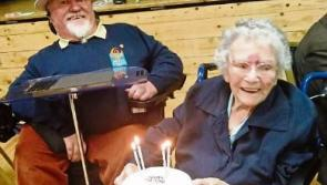 Longford's oldest citizen Anne Byrne celebrates 104th birthday with charity whist drive