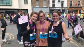 'Fab Fifteen' raise a whopping €4,600 for Longford Centre of Independent Living through VHI Women's Mini Marathon sponsorship