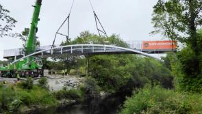 White's Bridge installed in Newcastle Woods ahead of official Center Parcs Longford Forest opening this weekend