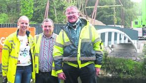 White's Bridge: New River Inny crossing reconnects Ballymahon forest walkways