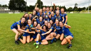 Celebration for Longford ladies in Abbeyshrule