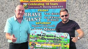 Host of stars to perform at Marquee in Drumlish Festival