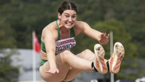 Dundalk Athlete Kate O'Connor wins Irish Times Sportswoman of the month