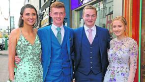 PICTURES | Mean Scoil Mhuire graduation dance brings glamour to Longford town