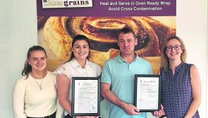 Longford bakery land  double 'A' award