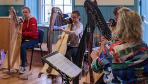 Harping on about Granard  Harp Festival