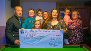 GALLERY| Ballymahon Friend's of Crumlin present cheque for €16,000