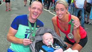 Local athletes  claim the spoils at Abbott Longford  Marathon