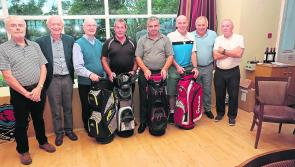 Longford GAA quartet claim top prize at  charity golf day