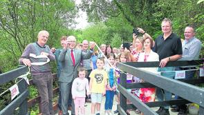 Colmcille welcomes new waterfall feature