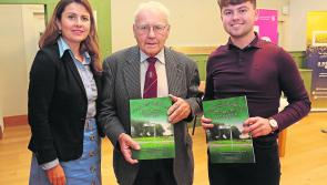 Renowned local historian Paddy Egan launches his latest heritage book in Ballymahon Library