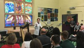 WATCH| Former TD Mary O'Rourke on hand to open the new science building at Lanesboro Community college