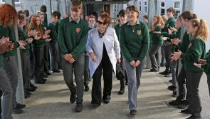 GALLERY| Mary O'Rourke in Lanesboro to officially open new building