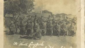 Commemorating the war of Independence in Longford