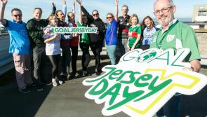 Longford people urged to tog out for GOAL Jersey Day
