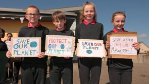 GALLERY| Longford students call for a planet that is green