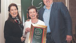 Georgina Campbell award for Longford's Viewmount House and Beryl Kearney