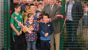 GALLERY| Huge attendance at opening of Bunlahy astro turf