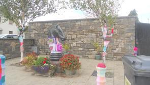 Yarn-bombing for positivity in Granard