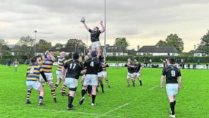 Longford Rugby Club lose out to the league leaders Monkstown