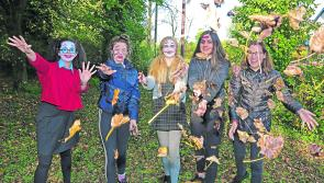 PICTURES | Longford schools team up for spooky Ardagh Fright Fest